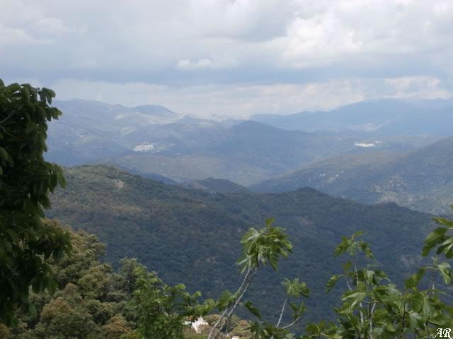 Genal Valley from Algatocin