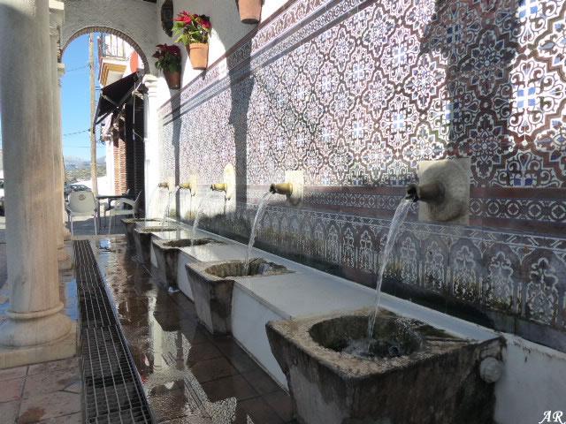 Fountain of the Five Spouts - Alcaucín