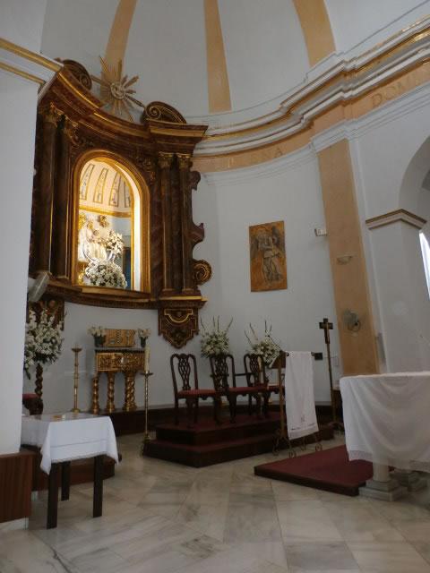 Iglesia Parroquial de Nuestra Señora de la Encarnación - Altar