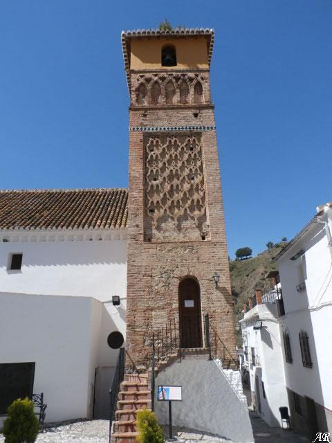Árchez - Torre Alminar de la Iglesia de Ntra. Sra. de la Encarnación