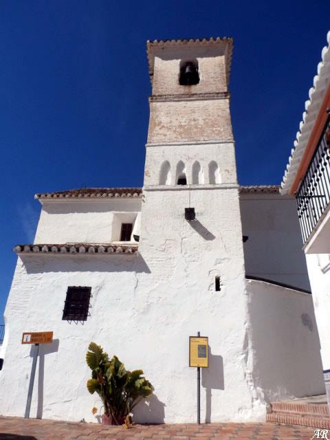 Alminar de Daimalos - Arenas. Iglesia de Ntra. Sra. de la Concepción y Alminar Mudéjar