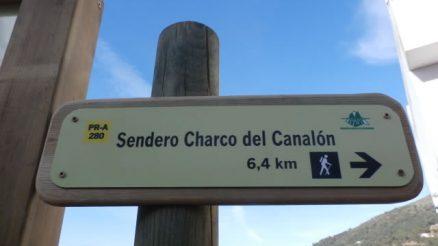 Sendero Charco del Canalón PR-A 280 Istán - Trail