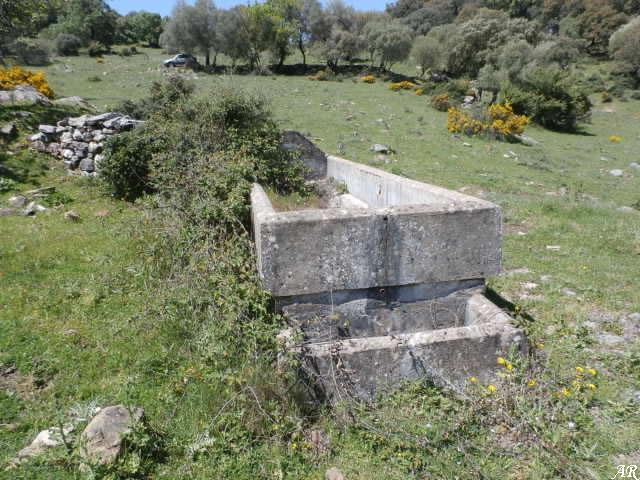 Cortes de la Frontera - Fuente de la Majadilla Ordóñez - Pilar de la Majadilla Ordóñez