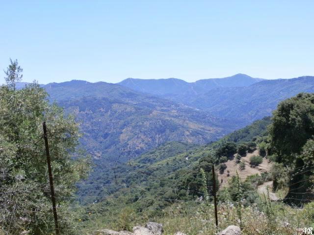 Vistas del Valle del Genal desde el Manantial Los Nacimientillos