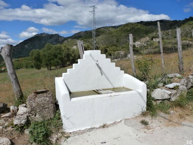 Nacimiento del Romeral de Algatocín - Fuente de Bella Vista - Fuente de La Obra