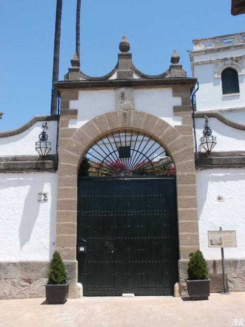 Palacio de los Condes de Puerto Hermoso - Pizarra