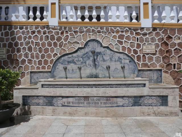 Fuente de la Plaza de la Constitución de Almogía