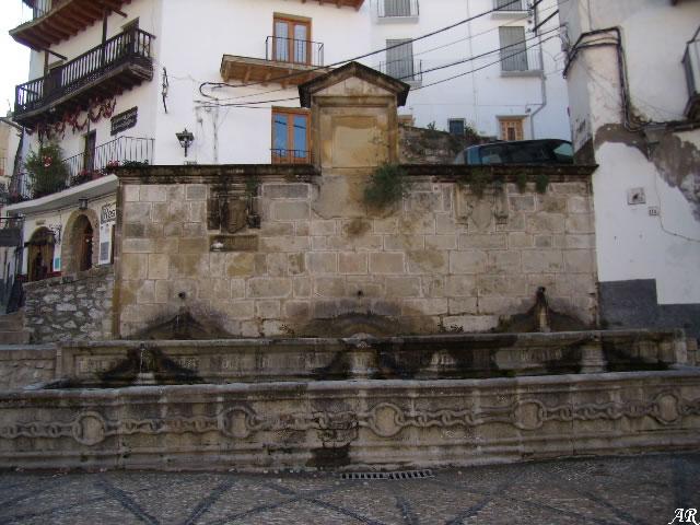 Fuente de las Cadenas de Cazorla - Fuentes y Manantiales de Cazorla