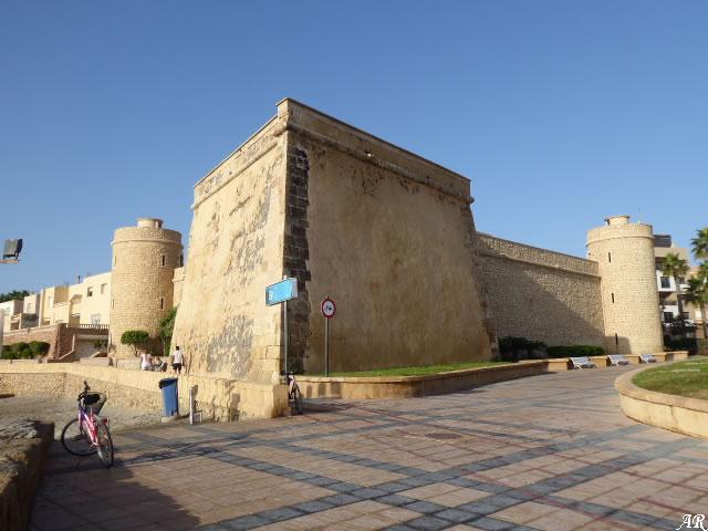 Castillo De Santa Ana O De Las Roquetas Roquetas De Mar
