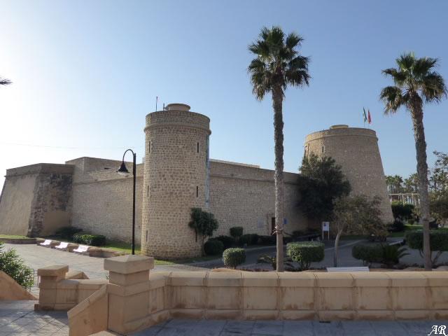 Castillo de Santa Ana o Castillo de las Roquetas - Roquetas de Mar