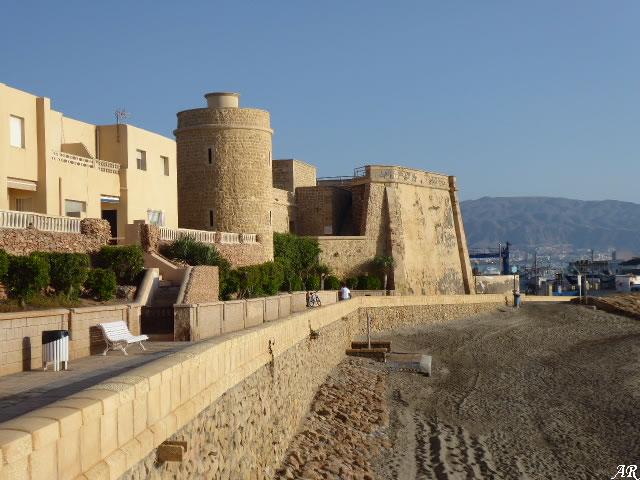 Castillo de Santa Ana o Castillo de las Roquetas