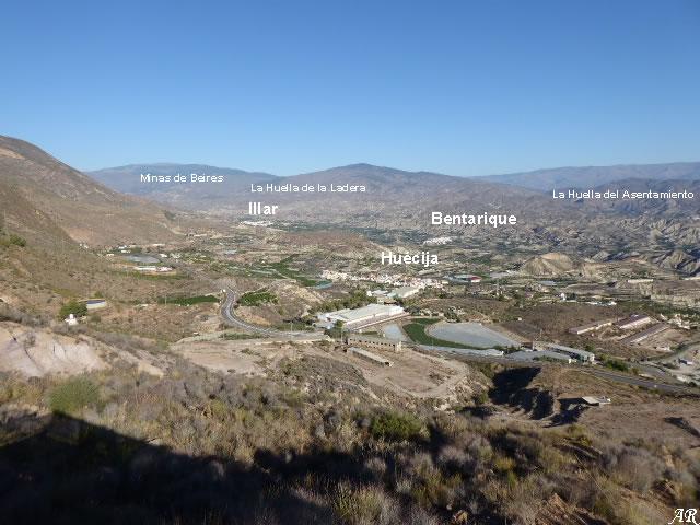 Mirador del Valle del Río Andarax - Alicún - La Minería en la Alpujarra