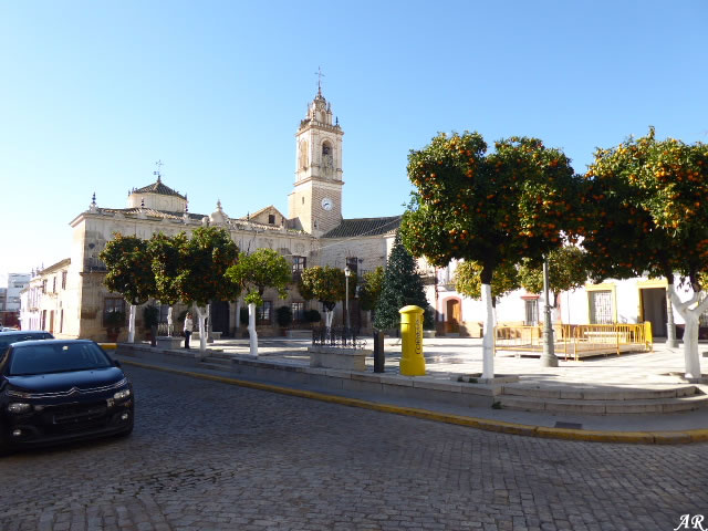Casa Consistorial - Ayuntamiento de Lora del Río - Plaza de España