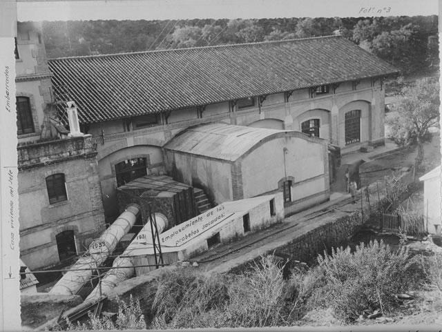 Casa de las Válvulas - Azud de El Corchado