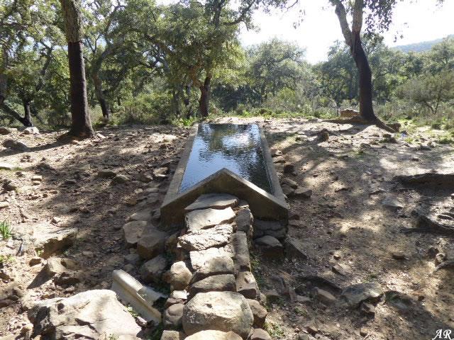 Pilar de los Lobatos - El Colmenar - Cortes de la Frontera - Parque Natural de los Alcornocales