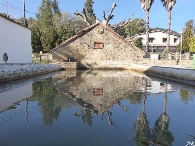 Pilar del Patio de las Corchas - El Colmenar - Cortes de la Frontera