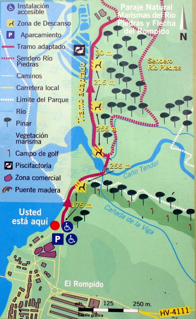 Paraje Natural Marismas del Río Piedras y Flecha del Rompido - Cartaya y Lepe