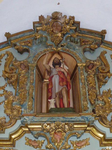 Iglesia de San Juan Bautista de Cuevas Bajas
