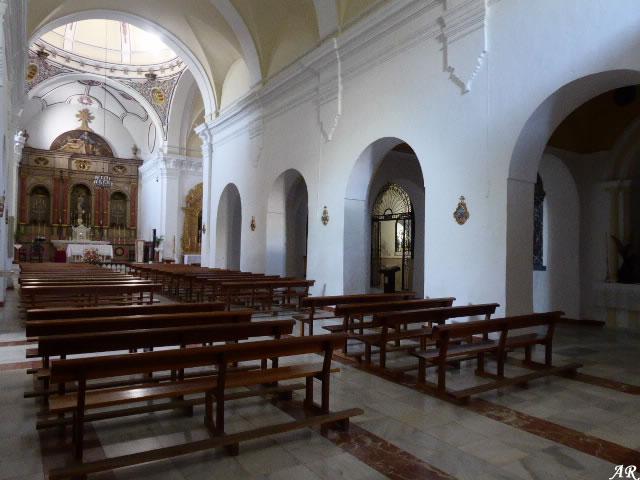 Nave central de la Iglesia Parroquial de la Inmaculada Concepción