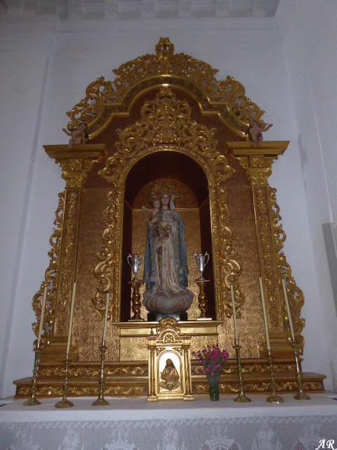 Inmaculada Concepcion Parish Church in Sierra de Yeguas