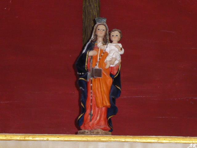 Virgen del Carmen del Castillo de Gigonza
