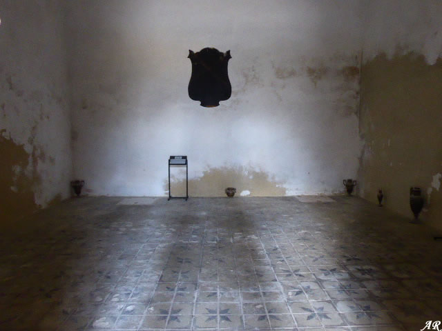 Planta baja de la Torre del Homenaje del Castillo de Gigonza