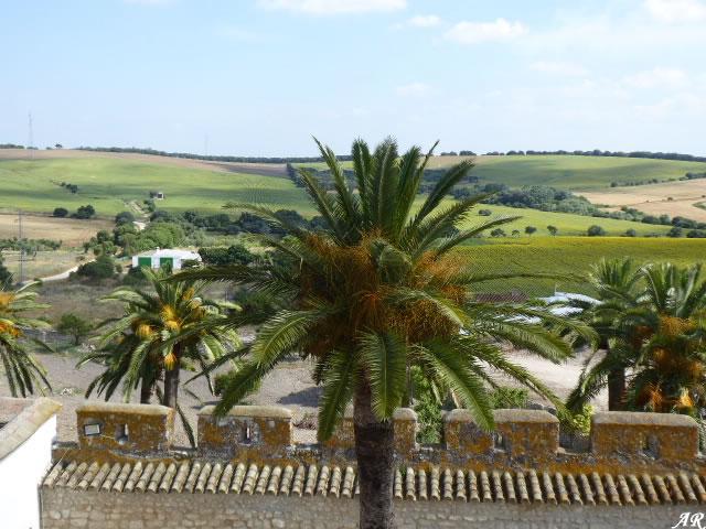 Panorámica desde el Castillo de Gigonza