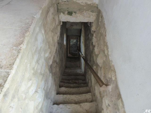 Escaleras del Castillo de Gigonza