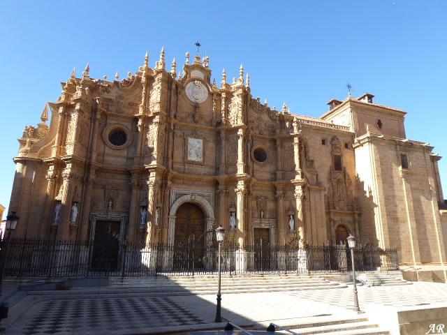 Portada de la Encarnación de la Catedral de Guadix