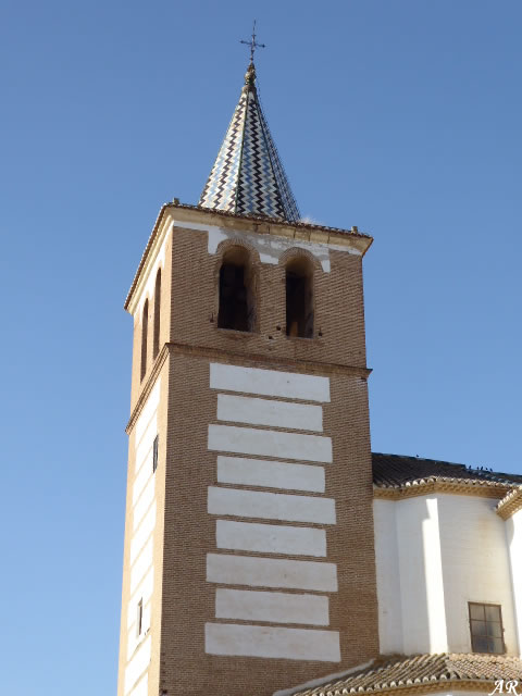 Santiago Church and Monastery Tower - Guadix