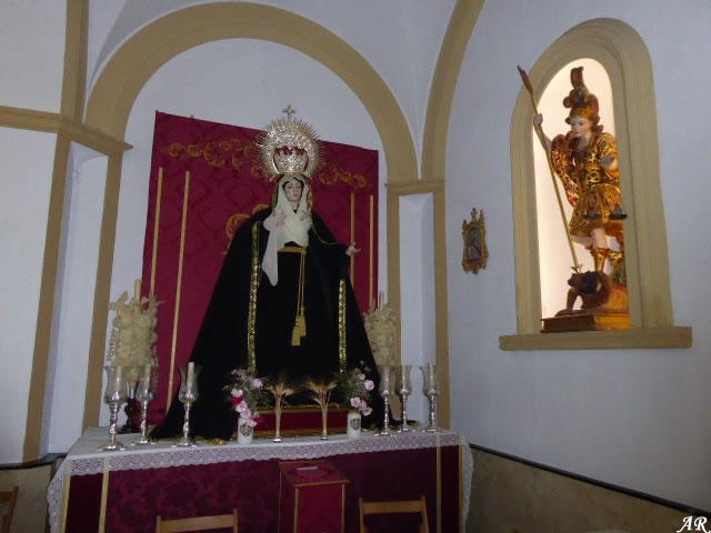 María Santísima de las Angustias - Iglesia de San Sebastián