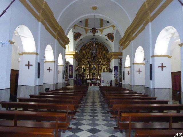 Nave Central de la Iglesia de San Telmo de Chiclana de la Frontera