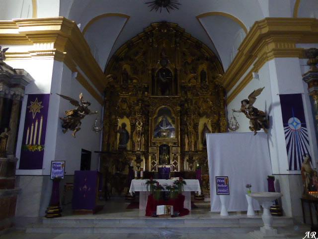 Presbiterio de la Iglesia de San Telmo