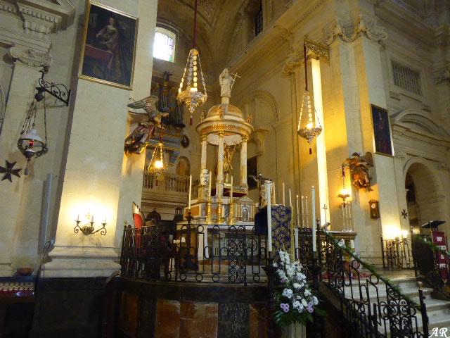 Presbiterio de la Iglesia Mayor de San Juan Bautista