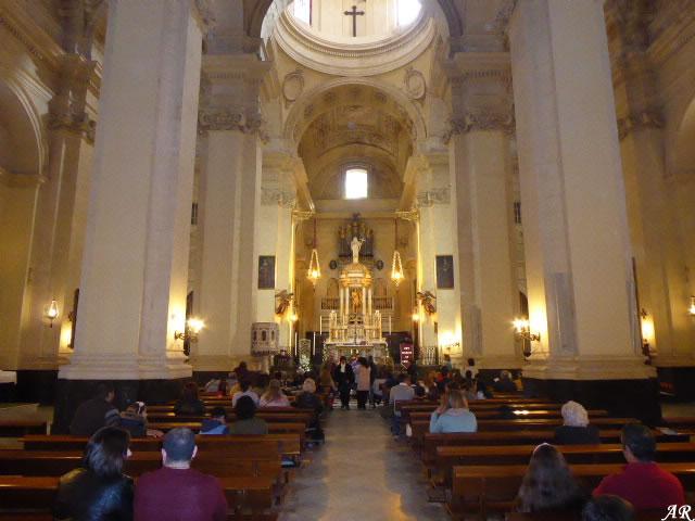 Central Nave of the San Juan Bautista Mayor Church