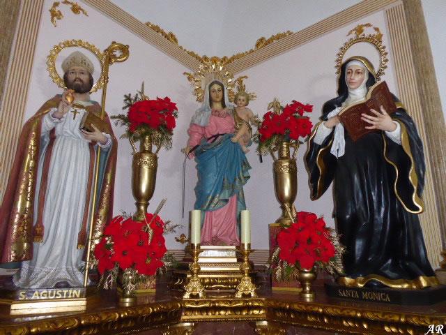 San Agustín, Virgen de la Consolación y Santa Mónica - Iglesia de la Victoria
