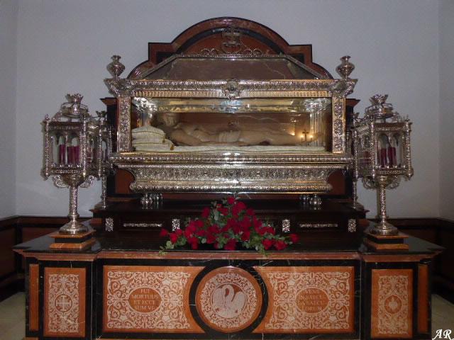 Urna Sagrada de Cristo - Iglesia de Nuestra Señora de la Encarnación de Guadix