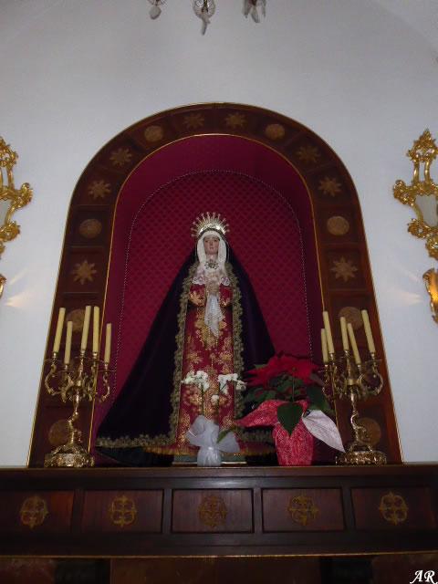 Virgen de los Dolores - Santuario de Nuestra Señora de la Cabeza - Motril