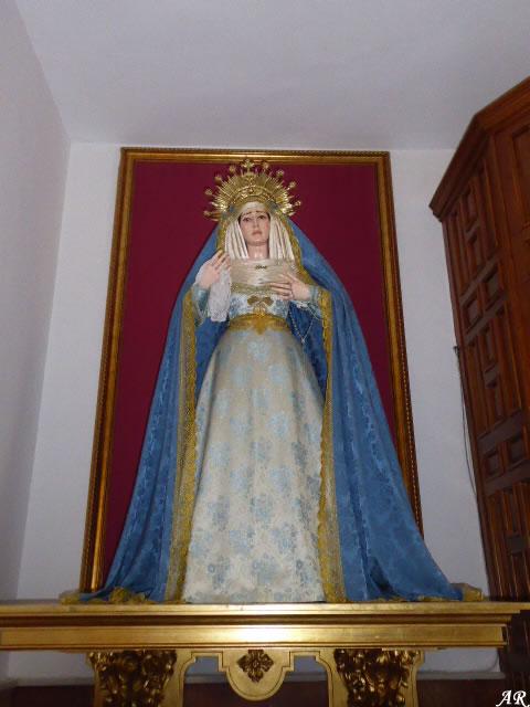 María Santísima de la Amargura - Santuario de Nuestra Señora de la Cabeza