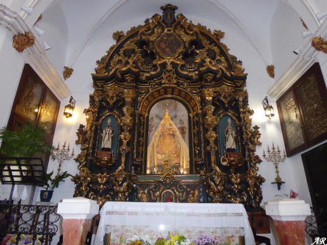 Ermita de la Virgen del Castillo - Retablo