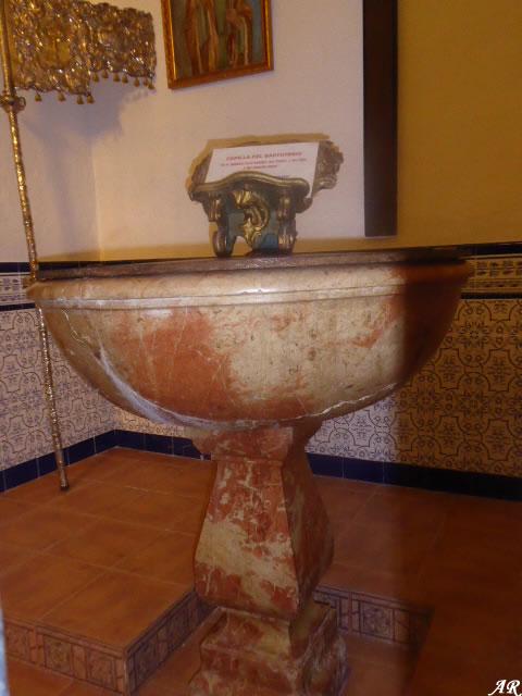 Capilla del Baptisterio de la Iglesia Parroquial de Santa María de la Mesa