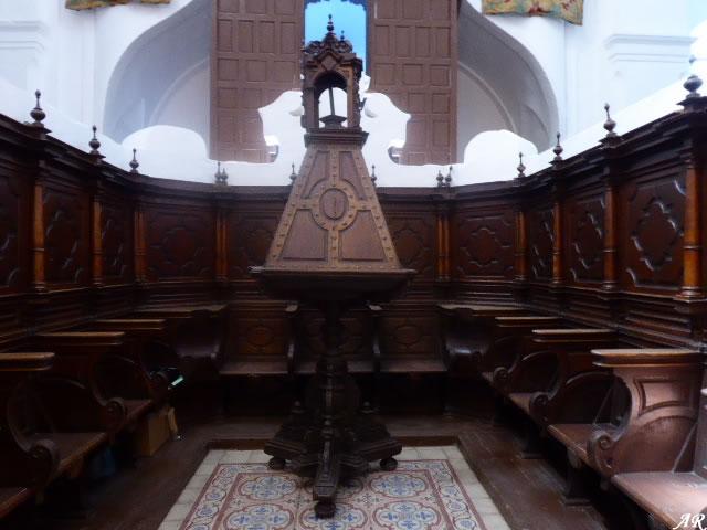 Coro de la Iglesia Parroquial de Santa María de la Mesa - Zahara de la Sierra