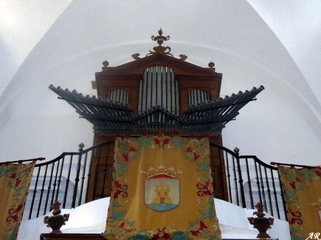 Órgano de la Iglesia Parroquial de Santa María de la Mesa - Zahara de la Sierra